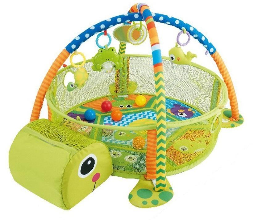 Centru de activitati copii 3 in 1 Testoasa Fericita (63545)