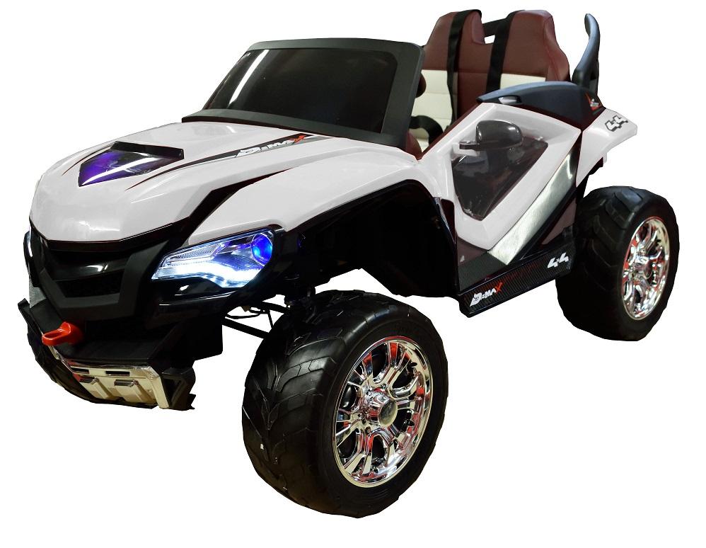 Masinuta electrica Premier D-Max 4x4 alb