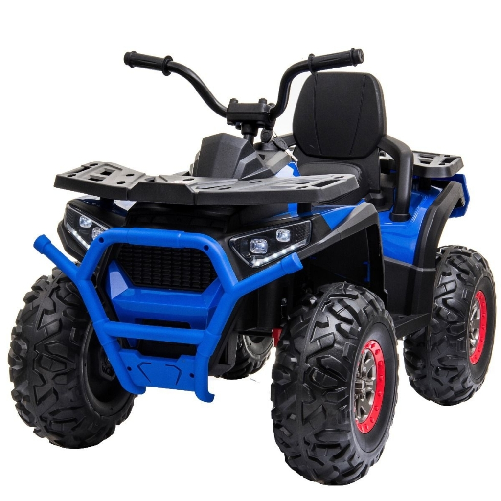 ATV electric 4x4 Premier Desert, 12V, roti cauciuc EVA, MP3, albastru