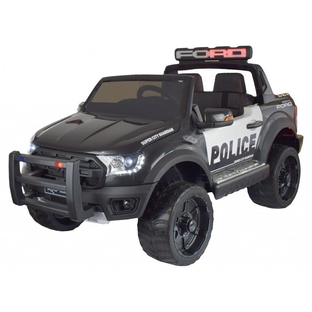 Masinuta electrica Ford Raptor Politie negru