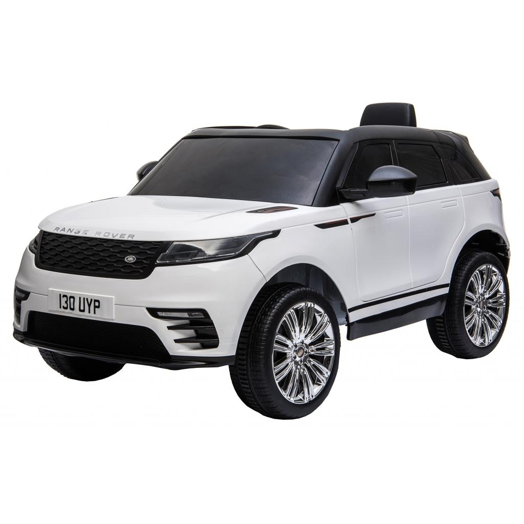Masinuta electrica Premier Range Rover Velar, 12V, roti cauciuc EVA, scaun piele ecologica, alb