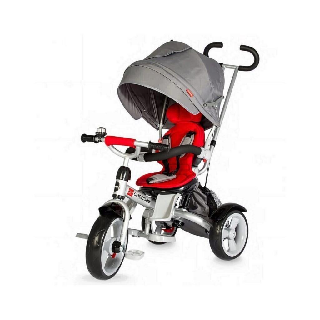 Tricicleta multifunctionala Coccolle Giro, Rosu
