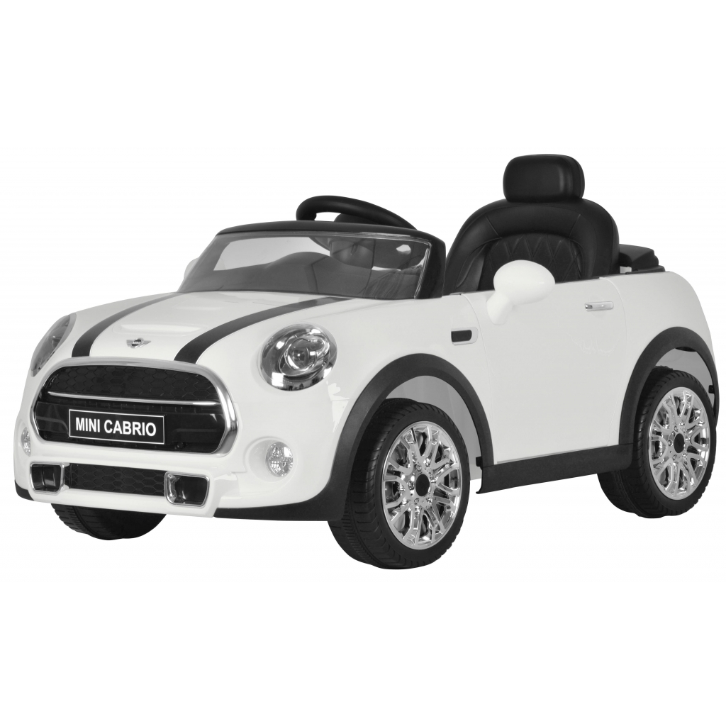 Masinuta electrica Mini Cooper Cabrio alb