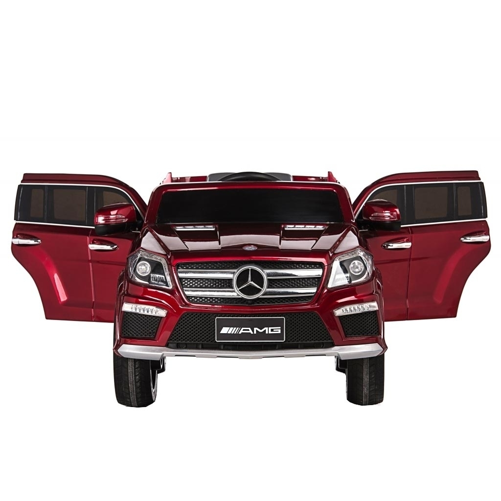 Masinuta electrica Mercedes GL63 Red, cu roti din cauciuc