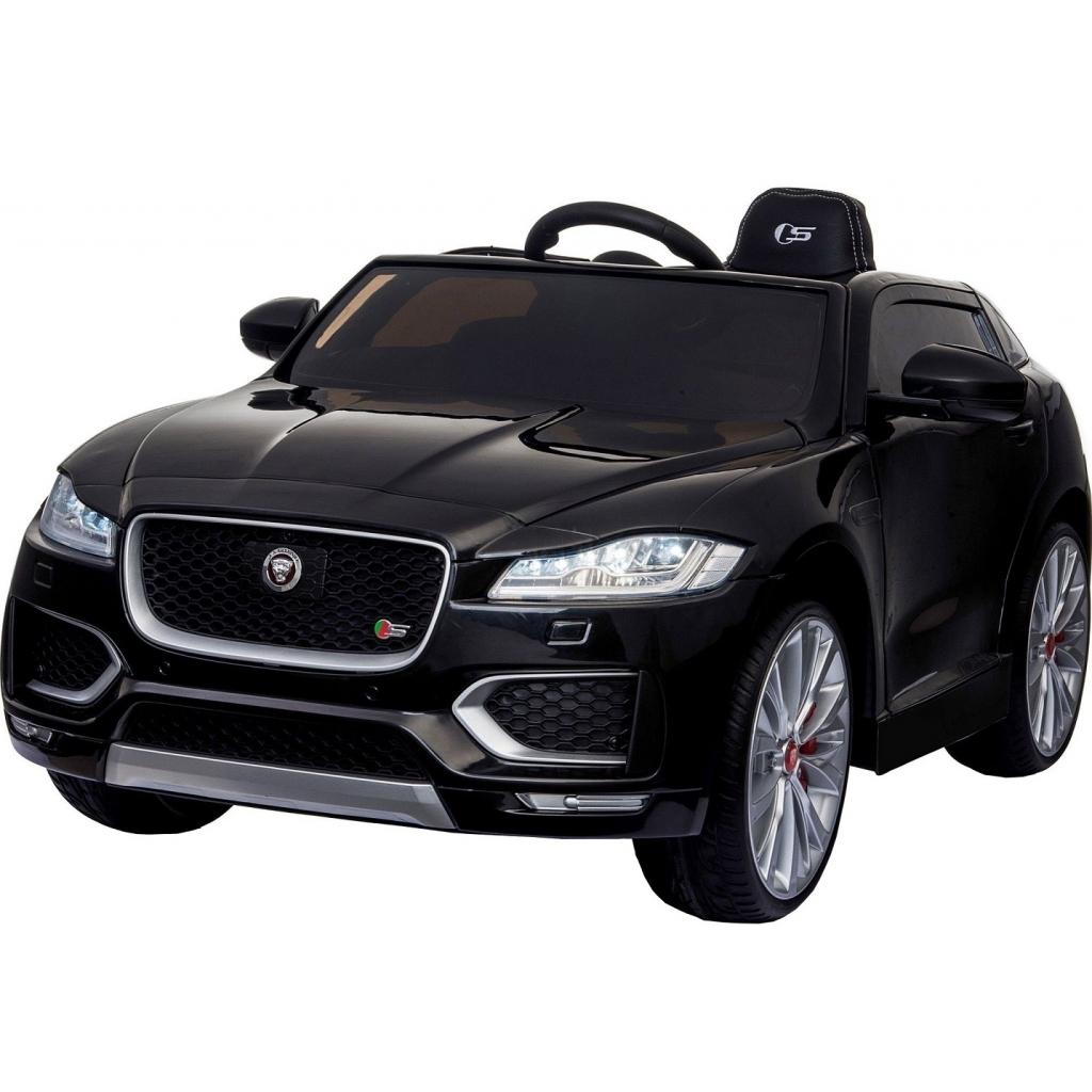 Masinuta electrica Premier Jaguar F-Pace, 12V, roti cauciuc EVA, scaun piele ecologica, neagra