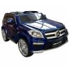 Masinuta electrica Premier Mercedes GL63, 12V, roti cauciuc EVA, scaun piele ecologica, albastra