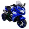 Motocicleta electrica cu 3 roti Premier Sport, 6V, 2 motoare, MP3, albastra