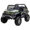 Masinuta electrica 4x4 Premier Mercedes Unimog, 12V, roti cauciuc EVA, scaun piele ecologica, camuflaj