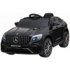 Masinuta electrica Premier Mercedes GLC 63S, 12V, roti cauciuc EVA, scaun piele ecologica, negru