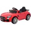 Masinuta electrica Premier Mercedes GT-R, 12V, roti cauciuc EVA, scaun piele ecologica, rosu