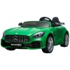 Masinuta electrica Premier Mercedes GT-R, 12V, roti cauciuc EVA, scaun piele ecologica, verde