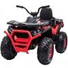 ATV electric 4x4 Premier Desert, 12V, roti cauciuc EVA, MP3, rosu