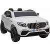 Masinuta electrica 4x4 Premier Mercedes GLC 63S Maxi, 12V, roti cauciuc EVA, scaun piele ecologica, alb