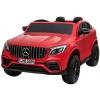 Masinuta electrica 4x4 Premier Mercedes GLC 63S Maxi, 12V, roti cauciuc EVA, scaun piele ecologica, rosu