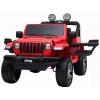 Masinuta electrica 4x4 Jeep Wrangler Rubicon 12V cu portiere rosu