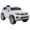 Masinuta electrica Volkswagen Touareg alb