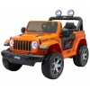 Masinuta electrica 4x4 Jeep Wrangler Rubicon 12V cu portiere portocaliu
