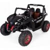 Buggy electric pentru 2 copii Premier 4x4 Superstar, MP4, cu 2 baterii, roti cauciuc EVA, scaun piele ecologica, negru