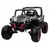 Buggy electric pentru 2 copii Premier 4x4 Superstar, MP4, cu 2 baterii, roti cauciuc EVA, scaun piele ecologica, camuflaj