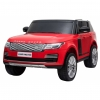 Masinuta electrica Premier Range Rover Vogue HSE, 12V, 2 locuri, roti cauciuc EVA, scaun piele ecologica, rosu