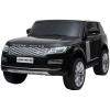 Masinuta electrica Premier Range Rover Vogue HSE, 12V, 2 locuri, roti cauciuc EVA, scaun piele ecologica, negru