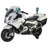Motocicleta electrica de politie Premier BMW R1200 RT-P, 12V, girofar si sunete, roti ajutatoare, alba