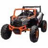 Masinuta electrica UTV Premier Dune, 24V, roti cauciuc EVA, 2 locuri, scaun piele ecologica, portocaliu