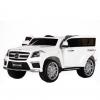 Masinuta electrica Premier Mercedes GL63, 12V, roti cauciuc EVA, scaun piele ecologica, alba