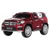 Masinuta electrica Premier Mercedes GL63, 12V, roti cauciuc EVA, scaun piele ecologica, cherry
