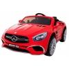 Masinuta electrica Premier Mercedes SL65 AMG, 12V, roti cauciuc EVA, scaun piele ecologica, rosu