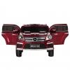 Masinuta electrica Premier Mercedes GL63, 12V, roti cauciuc EVA, scaun piele ecologica, rosie