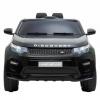 Masinuta electrica Premier Land Rover Discovery, 12V, roti cauciuc EVA, scaun piele ecologica, neagra