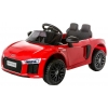 Masinuta electrica Premier Audi R8 Spyder, 12V, roti cauciuc EVA, scaun piele ecologica, rosie