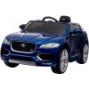 Masinuta electrica Premier Jaguar F-Pace, 12V, roti cauciuc EVA, scaun piele ecologica, albastra